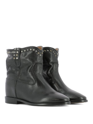 Isabel Marant: ankle boots online - Cluster studded ankle boots