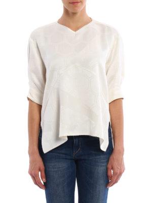Isabel Marant: blouses online - Randall honeycomb blouse