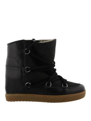 ISABEL MARANT: stivali - Stivali Étoile Nowles in pelle
