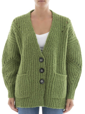 Isabel Marant: cardigans online - Wool and alpaca over cardigan