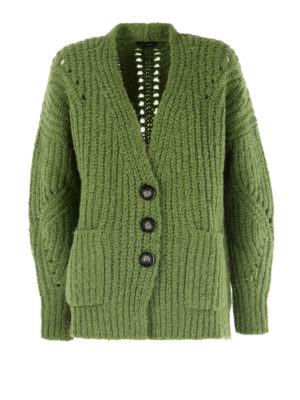Isabel Marant: cardigans - Wool and alpaca over cardigan