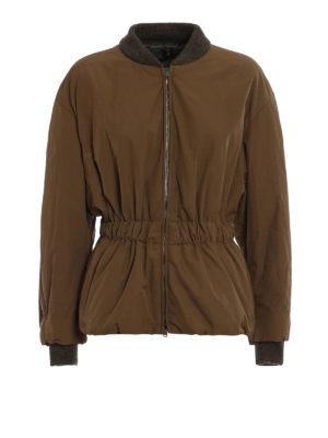 Isabel Marant: casual jackets - Dex elastic waist jacket