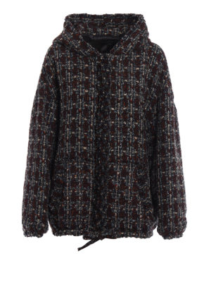 Isabel Marant: casual jackets - Fliver boucle wool blend jacket