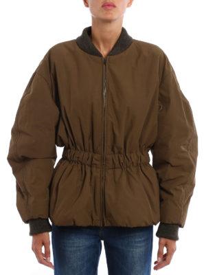 Isabel Marant: casual jackets online - Dex elastic waist jacket