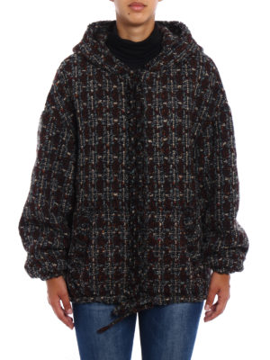 Isabel Marant: casual jackets online - Fliver boucle wool blend jacket