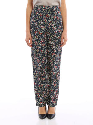 Isabel Marant: casual trousers online - Roya trousers