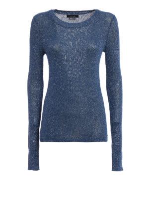 Isabel Marant: crew necks - Beyond lurex sweater