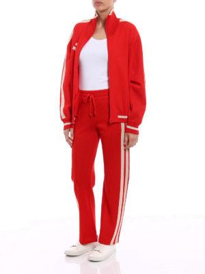 isabel marant etoile: cardigans online - Darcy viscose blend red cardigan