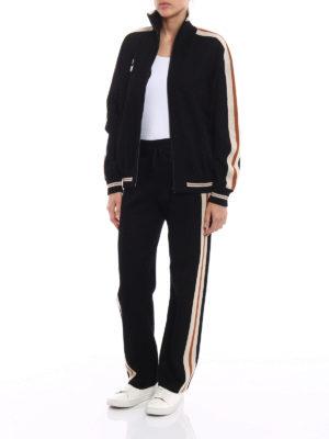 isabel marant etoile: cardigans online - Darcy viscose blend zip cardigan
