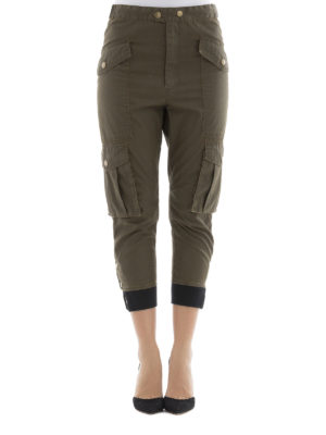 isabel marant etoile: casual trousers online - Cropped cargo trousers