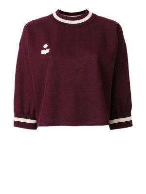 isabel marant etoile: crew necks - Dayton sweater