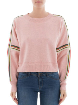 isabel marant etoile: crew necks online - Kao oversized crop sweater