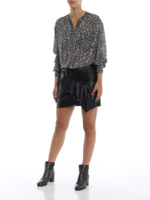 Isabel Marant Etoile: camicie online - Camicia Jaws in georgette stampata