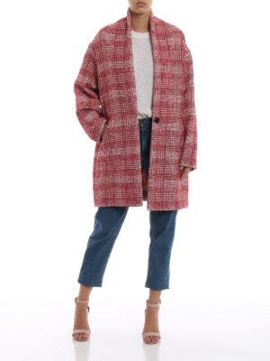 Isabel Marant Etoile: cappotti corti online - Cappotto corto Eabrie in tweed a quadri