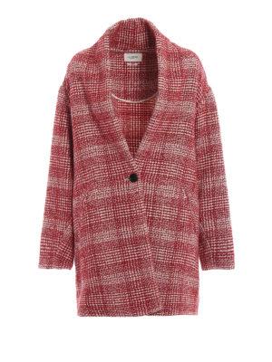 Isabel Marant Etoile: cappotti corti - Cappotto corto Eabrie in tweed a quadri