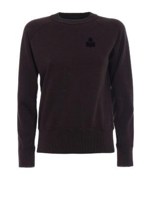 isabel marant etoile: Sweatshirts & Sweaters - Makati faded black sweatshirt