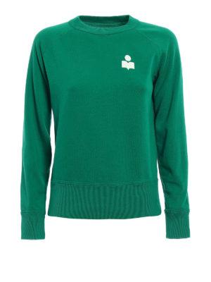 isabel marant etoile: Sweatshirts & Sweaters - Makati green sweatshirt