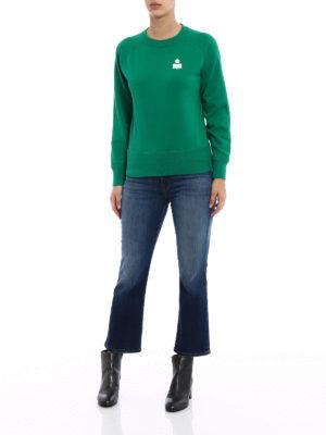 isabel marant etoile: Sweatshirts & Sweaters online - Makati green sweatshirt