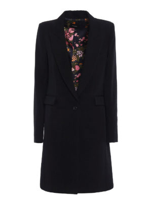 Isabel Marant: knee length coats - Formal fitted wool coat