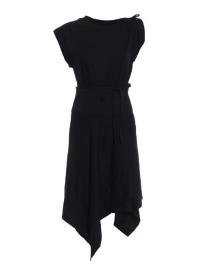 Isabel Marant: knee length dresses - Loko asymmetric dress