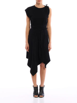 Isabel Marant: knee length dresses online - Loko asymmetric dress