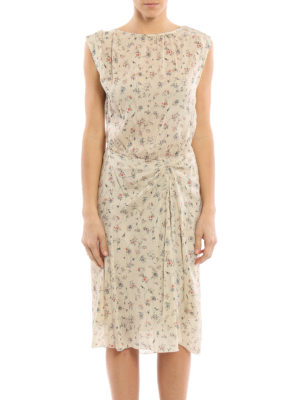 Isabel Marant: knee length dresses online - Romantic Taos dress