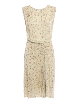 Isabel Marant: knee length dresses - Romantic Taos dress