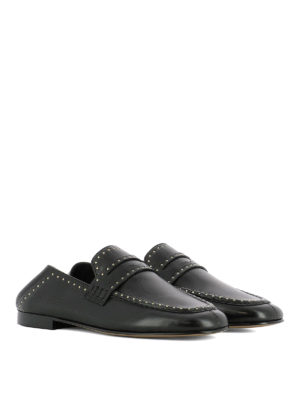 Isabel Marant: Loafers & Slippers online - Fezzy studded leather loafers