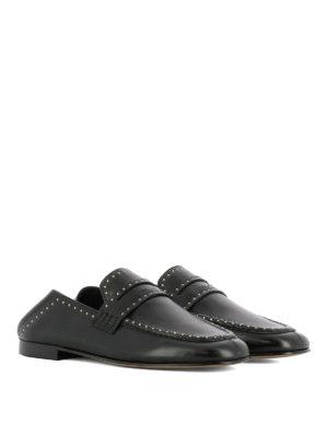 ISABEL MARANT: Mocassini e slippers online - Mocassini Fezzy pelle con borchie