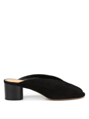 Isabel Marant: sandals - Measha suede slingback sandals