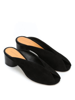 Isabel Marant: sandals online - Measha suede slingback sandals