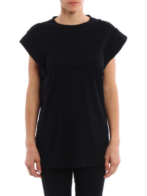 Isabel Marant: t-shirts online - Lowell back cut out detail T-shirt