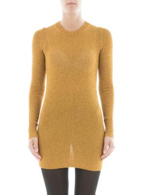 Isabel Marant: t-shirts online - Lurex viscose long T-shirt
