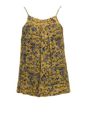 Isabel Marant: Tops & Tank tops - Bronson batik print silk top