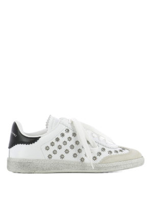 Isabel Marant: trainers - Beth flower-eyelets sneakers