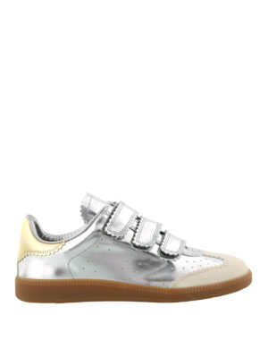Isabel Marant: trainers - Beth patent leather sneakers