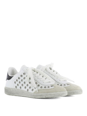 Isabel Marant: trainers online - Beth flower-eyelets sneakers