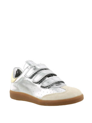 Isabel Marant: trainers online - Beth patent leather sneakers