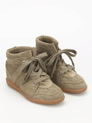 Isabel Marant: trainers online - Bobby inner wedge sneakers