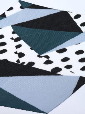 Issey Miyake Cauliflower: scarves online - Random Dots pleated scarf
