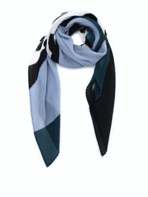 Issey Miyake Cauliflower: scarves - Random Dots pleated scarf
