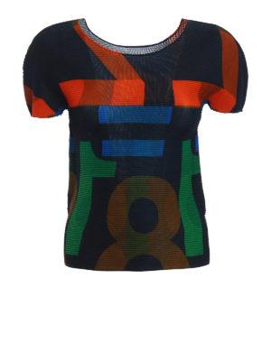 Issey Miyake Cauliflower: t-shirts - Number print T-shirt