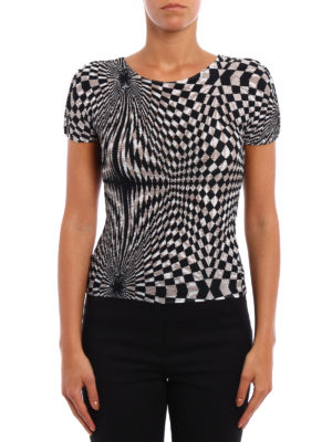 Issey Miyake Cauliflower: t-shirts online - Geometric print T-shirt