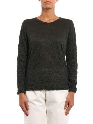 Issey Miyake Cauliflower: t-shirts online - Meringue long sleeve T-shirt