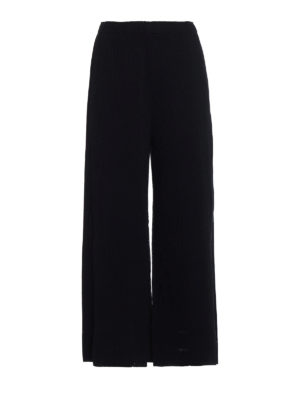 Issey Miyake Cauliflower: Tailored & Formal trousers - A-Poc Pleats 2 trousers