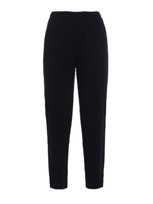Issey Miyake Cauliflower: Tailored & Formal trousers - A-Poc Pleats trousers