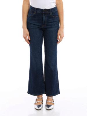 J Brand: bootcut jeans online - Carolina crop bootcut jeans