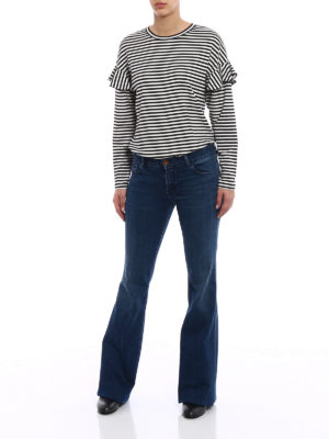 J Brand: bootcut jeans online - Love Story bell bottom jeans