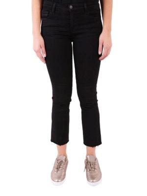 J Brand: bootcut jeans online - Selena Bootcut black jeans