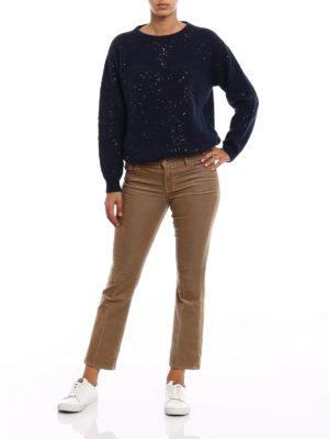 J Brand: bootcut jeans online - Selena corduroy bootcut jeans